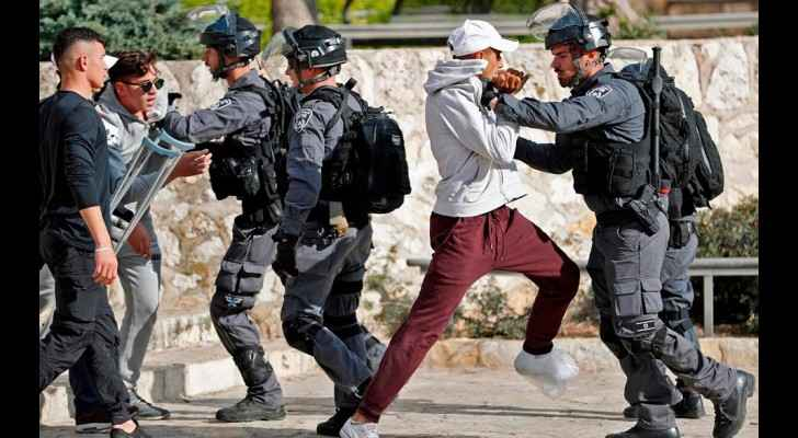 Clashes erupted today between Israeli forces and Palestinian youth protesting. (PalInfoCenter)