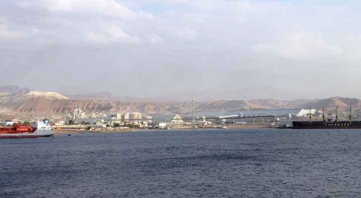 Seaport Of Aqaba. (Wikimedia Commons)