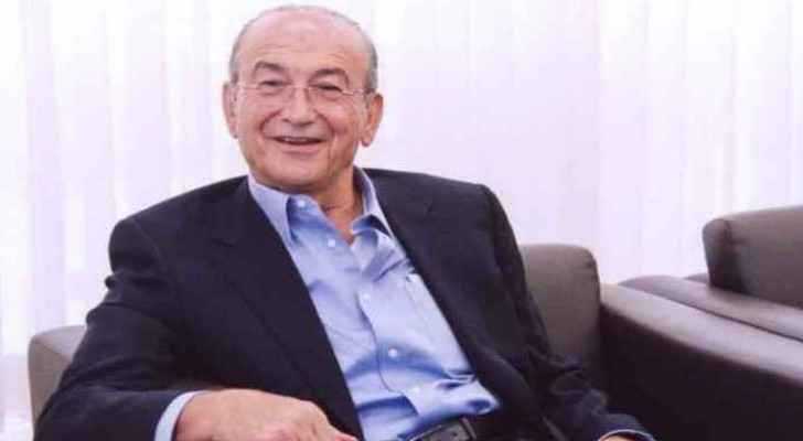 Sabih Al Masri, one of the most influential businessmen and the chairman of the largest Jordanian lender Arab Bank.