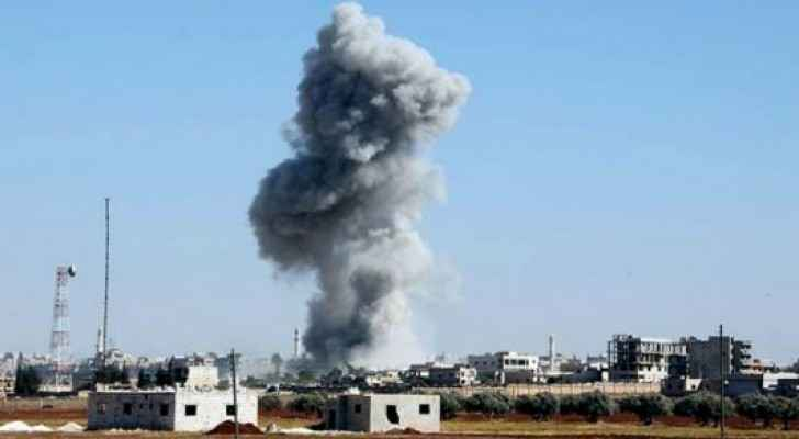 Several airstrikes hit Idlib recently killing tens of people. (SOHR)