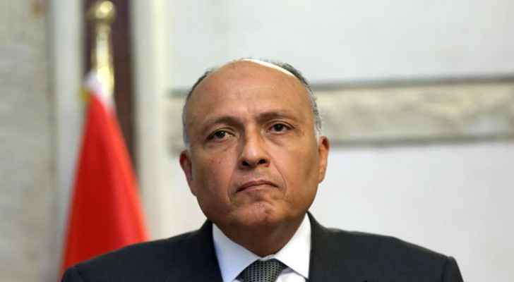 Foreign Minister, Sameh Shoukry.