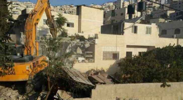 The Israeli municipality rarely issues building permits.