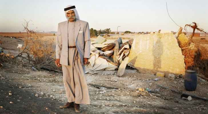 Alarqib Village was demolished for 121 times. (Image from: The Institute for Middle East Understanding)