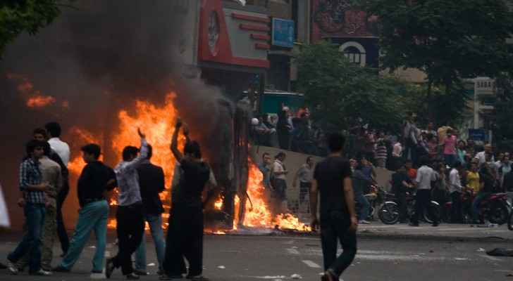 File Image from Iranian protests in 2009. (Wikimedia Commons)