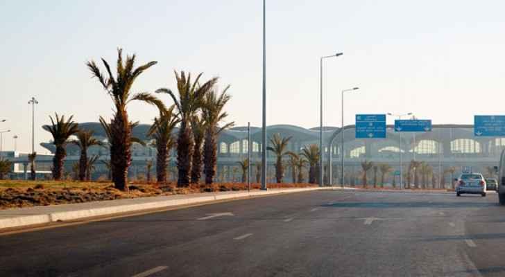 Queen Alia International Airport in Amman.