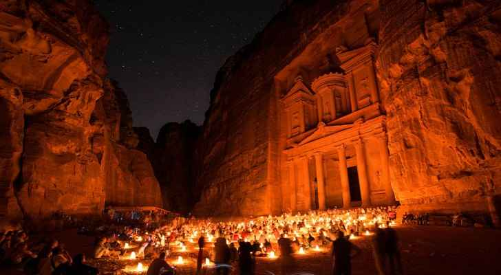 Petra listed as one of the Seven Wonders of the World in 2007. (Wikimedia Commons)