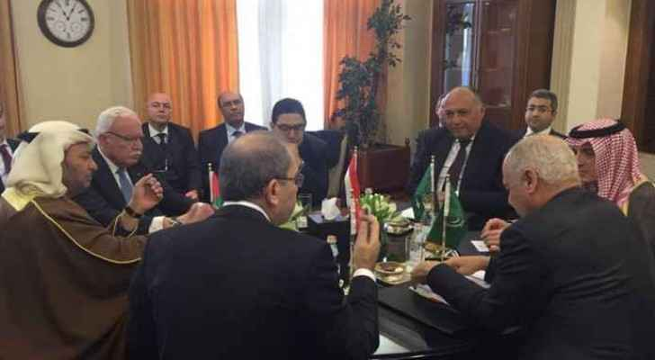 The meeting of the six-member Arab Ministerial Committee on Jerusalem began in Amman