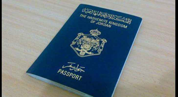 The Jordanian passport.
