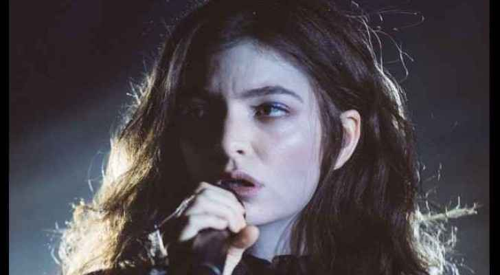 The New Zealand signer, Lorde, cancelled her perofrmance in Tel Aviv. (Twitter)