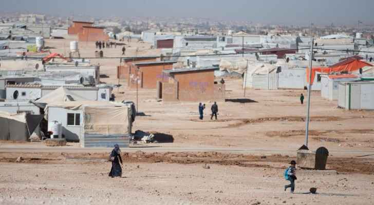 The camp hosts around 80,000 Syrian refugee. (Photo from: Oxfam)