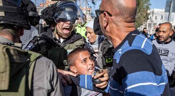 Israeli Police Abusing Detained Children. (HRW Archive)