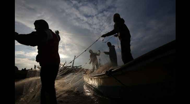 Gazan fisherman are regularly shot at by Egyptian and Israeli forces. (Middle East Eye)