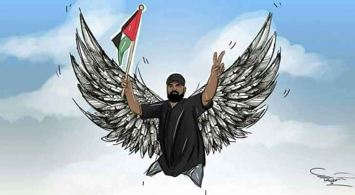 Abu Thurayya became a symbol for Palestinians protests.