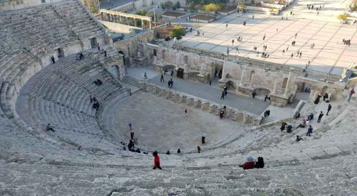 The Roman Amphitheater in Amman is included among the 'Jordan Pass' ticket.