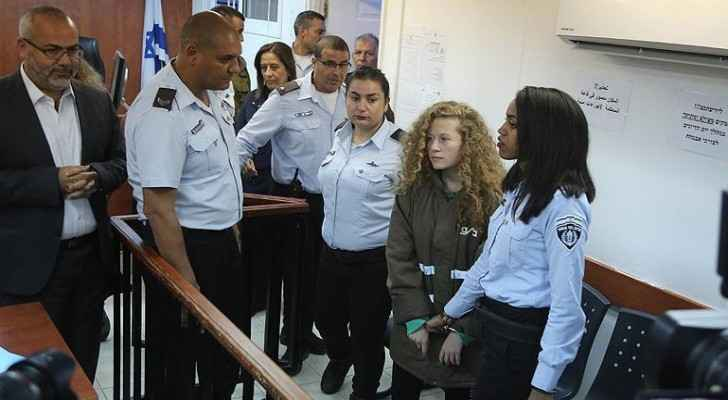 Tamimi at the court