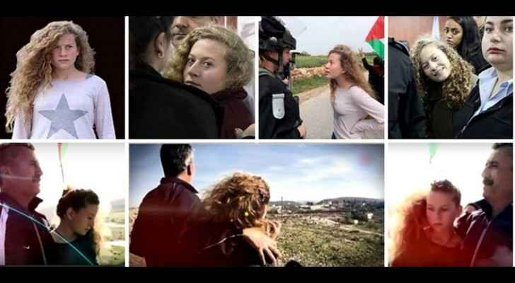 Ahed has been standing up to Israeli soldiers since she was a little child. (Roya)