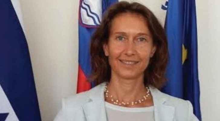 Slovenian ambassador Barbara Susnik (The Jerusalem Post)