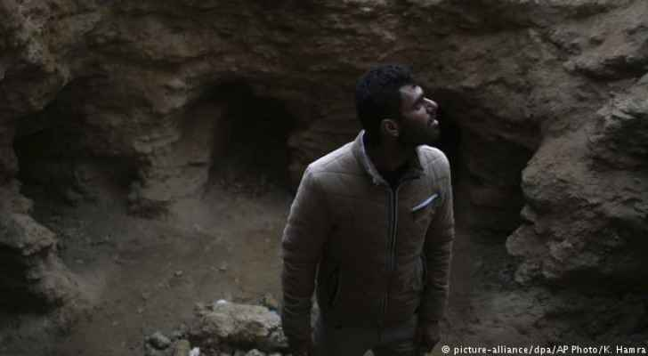 Abdelkarim al-Kafarna was extremely surprised by his find