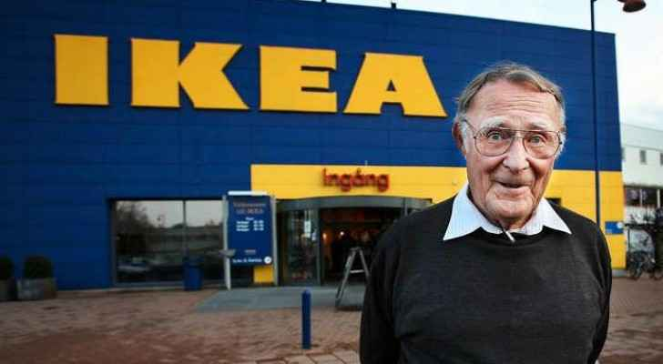 IKEA's founder who created his emperor when he was 17 years old.