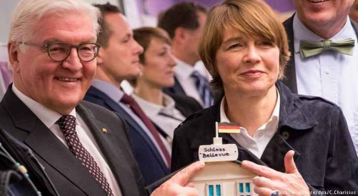 German President and his wife (source DW)