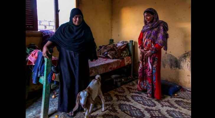 "Some of the women living in ""El Samha"" village. (Egypt Independent)"