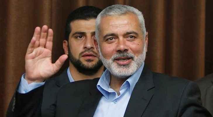 Hamas's senior political leader Ismail Haniyeh. (The Indian Express)