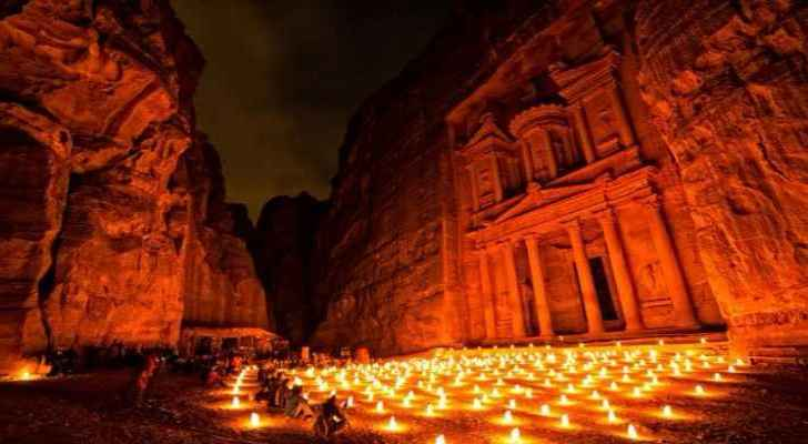 Petra plays a vital role in improving the tourism sector in Jordan.