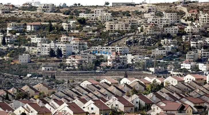 Israeli settlements in the Occupied West Bank. (Sputnik)