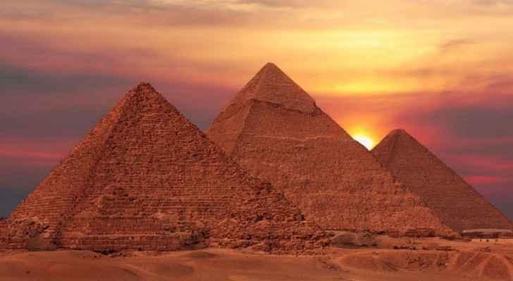 The thee Pyramids of Al-Giza