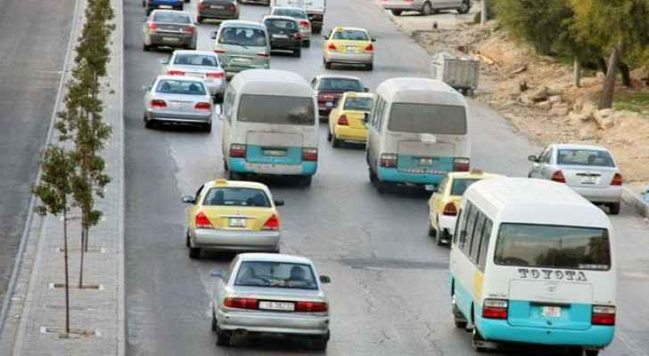 Public transport in Jordan includes medium and heavy transport buses and all taxis. (TheJordanTimes)