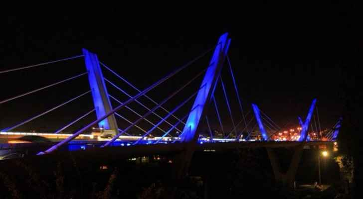 Abdoun Bridge is a very famous site in Jordan, that connects south Amman to the 4th circle (Al Rai)