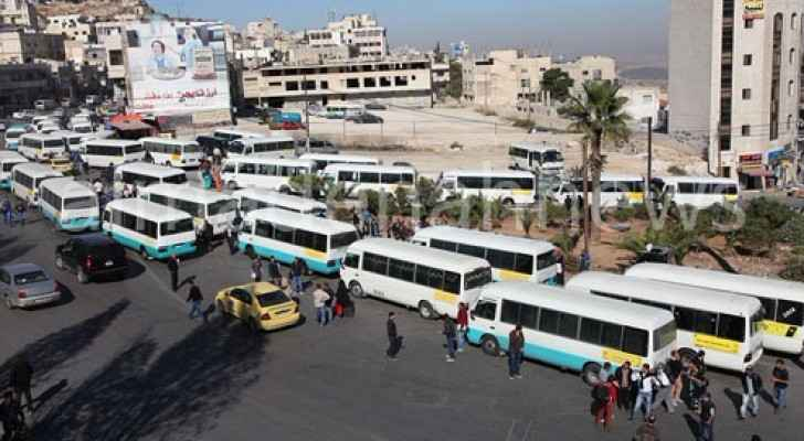 Transportation companies provide services between Amman and Irbid.
