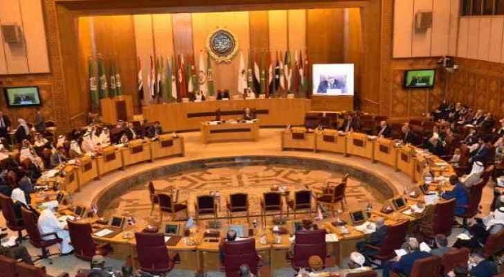 The Arab parliaments' speakers meeting on Saturday in Cairo. (Roya Arabic)