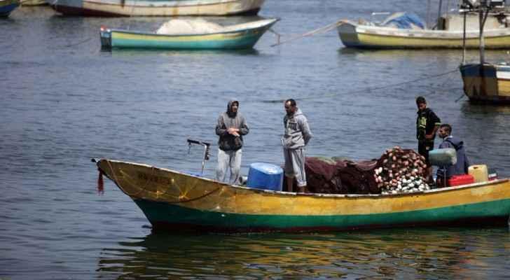 Fishermen in Gaza. (TheTimesOfIsrael)
