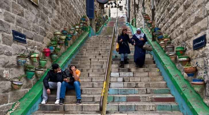 Close to 100 stairs on main and side roads will undergo preservation. (Ahram Online)