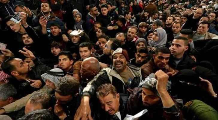 Palestinian at Rafah Border Crossing. (Image taken by: Ashraf Abu Amrah)