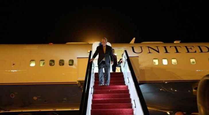 Rex Tillerson arrived to Jordan as part of his five-country regional tour. (USEmbassyJordan)