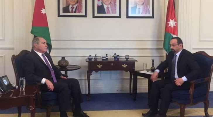 PM Hani Mulki was interviews by Jordan TV on Tuesday in his first appearance after arriving to Jordan. (JRTV)