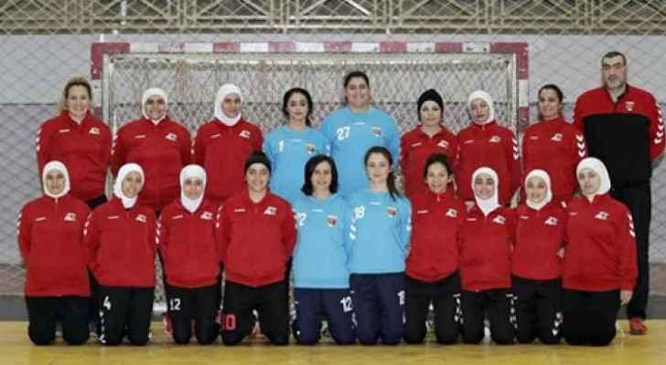 Jordanian handball team