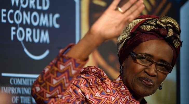 Winnie Byanyima, the executive director of Oxfam International. Photograph: Gian Ehrenzeller/EPA