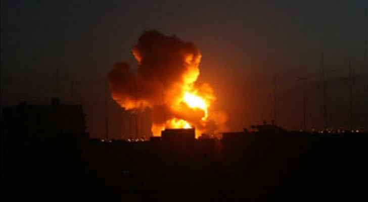 Israel attacked several locations in Gaza during Saturday-Sunday night. (PalInfoCenter/Archive)