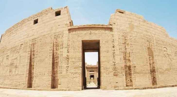 The Borsippa archaeological site in the Iraqi province of Babylon. (Arab News)