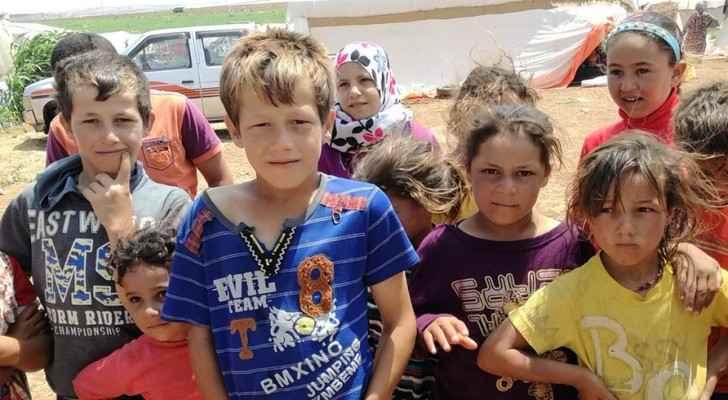 Syrian refugee children lack basic needs in Jordan. (UNICEF/Twitter)