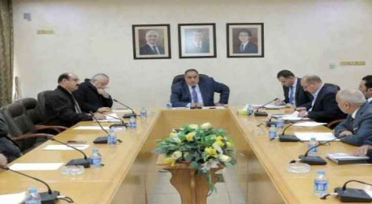 Labour and Social Development parliamentary committee  during the meeting (alqubbahnews)