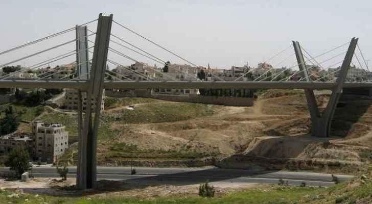 Abdoun Bridge in Amman.