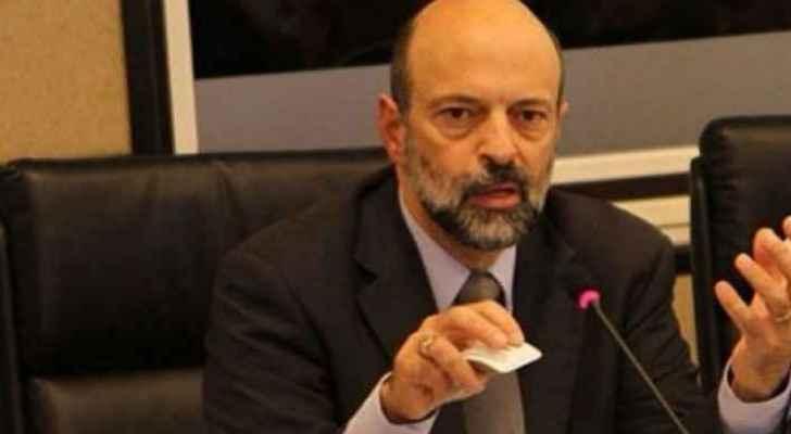The Minister of Education Omar al-Razzaz. (File photo)