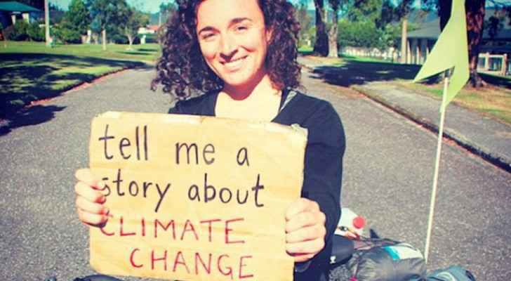 Devi Lockwood travelled across Southern Hemisphere to collect 1,001 climate change stories (Mashable)