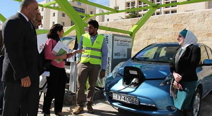 Electric cars were introduced in Jordan in mid 2015 (DAI Publications)