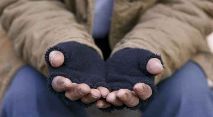 The majority of the beggars arrested live in mobile tents. (File photo)