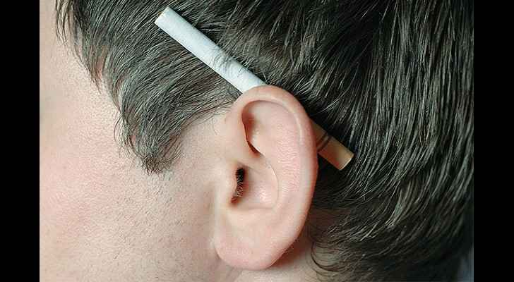 Smoking has been tied to a higher risk of hearing loss. (Audicus)